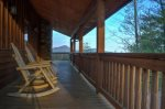 Back view of Five Seasons with gorgeous views of Mt Yonah