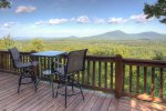 Luxury Couples Cabin with Gorgeous Mountain Views