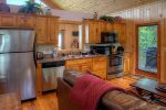 Handmade rustic dining table seats 2-4