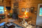 Kitchen includes stainless steel appliances, with full size washer/dryer in hallway