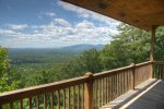 Lookout Pointe - Gorgeous Cabin Rental near Helen Georgia with THE best scenic mountain views... stunning!
