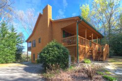 Secluded And Serene, A Vacation Cabin Rental With Scenic Mountain Views.