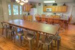 Large Kitchen/Dining Area Seats 12