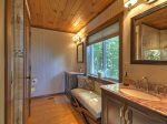 Fireside Bluff - Attached Master Bathroom