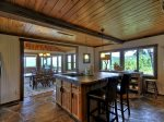 Fireside Bluff - Island In Kitchen