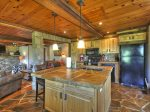 Fireside Bluff - Fully Equipped Kitchen