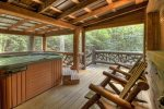 Hothouse Hideaway - Hot Tub and Porch Seating