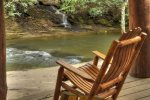 Hothouse Hideaway - Seating off the Creek