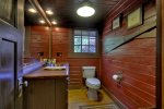 Tippy Canoe - Entry Level Bathroom