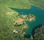Tippy Canoe - Aerial View on Lake Blue Ridge