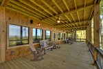 The VUE Over Blue Ridge - Deck with Outdoor Seating