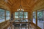 Wonderful Lodge - Upper Level King Bedroom w/ Private Deck Access