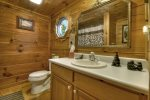 Mountain Sunset - Attached Entry Level Bathroom