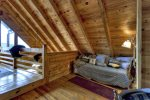 Mountain Sunset - Loft with Queen Bed and Twin Daybed with Trundle
