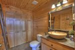 Grand Mountain Lodge - Entry Level Half Bathroom