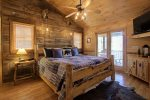 Grand Mountain Lodge - Entry Level Master King Bedroom