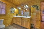 Grand Mountain Lodge - Entry Level Master Bathroom