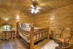 Grand Mountain Lodge - Lower Level Queen Bedroom 2