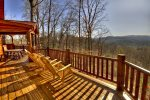 Grand Mountain Lodge - Deck w/ Long Range Mountain View