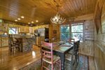 Grand Mountain Lodge - Dining Area and Fully Equipped Kitchen