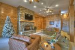 When in Rome - Fireplace on Deck with Lake View