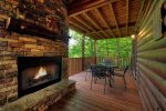 Stargazer - Outdoor Fireplace