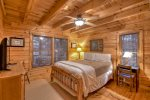 Blue Lake Cabin - Entry Level Queen Bedroom