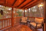 Blue Lake Cabin - Upper Level Private Deck