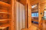 Blue Lake Cabin - Attached Master Bathroom