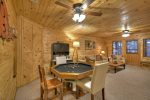 Blue Lake Cabin - Lower Level Card Table
