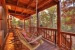 Blue Lake Cabin - Front Porch w/ Swinging Bench