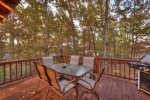 Blue Lake Cabin - Deck w/ Outdoor Seating