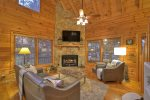 Blue Lake Cabin - Living Area