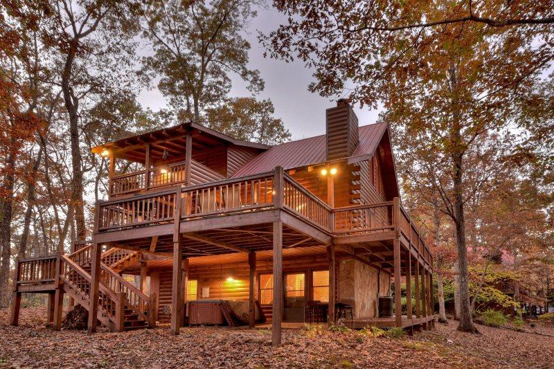 Blue Lake Cabin in Blue Ridge - North GA Cabin Rental