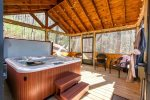Big Creek Cabin - Screened-In Hot Tub