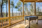 Big Creek Cabin - Outdoor Foosball Table