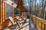 Big Creek Cabin - Deck w/ Outdoor Seating
