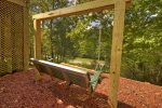Toccoa Mist - Swinging Bench