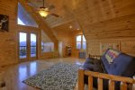 Bearcat Lodge - Upper Level Loft Area w/ Deck Access