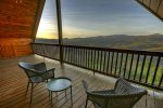 Bearcat Lodge - Upper Level Deck w/ Long Range View