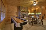 Bearcat Lodge - Lower Level Shuffleboard and Card Table