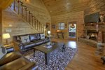 Bearcat Lodge - Entry Level Living Room