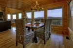 Bearcat Lodge - Dining Area w/ Seating for 6