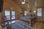 Bearing Haus - Upper Level Master Queen Bedroom