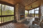 View From The Top - Outdoor Fireplace