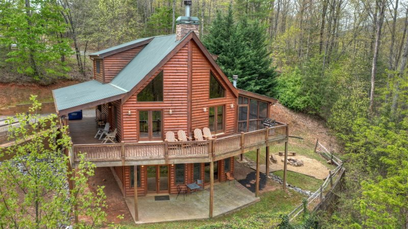 View From The Top In Blue Ridge North Ga Cabin Rental