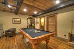 Hidden Escape - Lower Level Pool Table