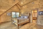 Long Mountain Lodge - Upper Level Master King Bedroom