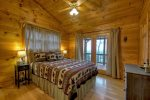 Sunset Ridge - Upper Level Queen Bedroom w/ Deck Access