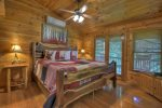 Highlands Hideaway - Upper Level Master King Bedroom
